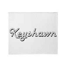 Keyshawn Classic Style Name Throw Blanket