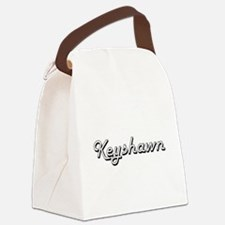 Keyshawn Classic Style Name Canvas Lunch Bag