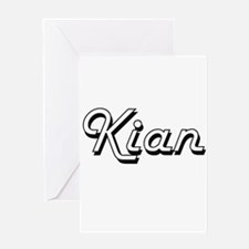 Kian Classic Style Name Greeting Cards