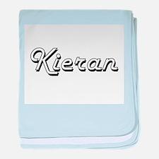 Kieran Classic Style Name baby blanket
