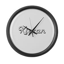 Kieran Classic Style Name Large Wall Clock
