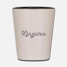 Kingston Classic Style Name Shot Glass