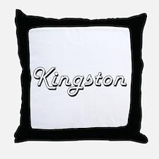 Kingston Classic Style Name Throw Pillow