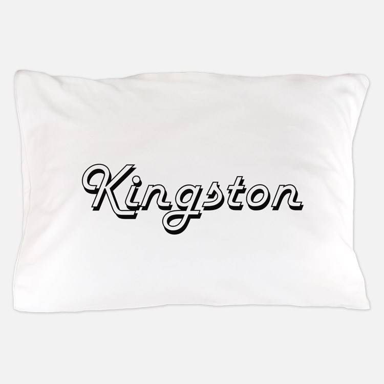 Kingston Classic Style Name Pillow Case