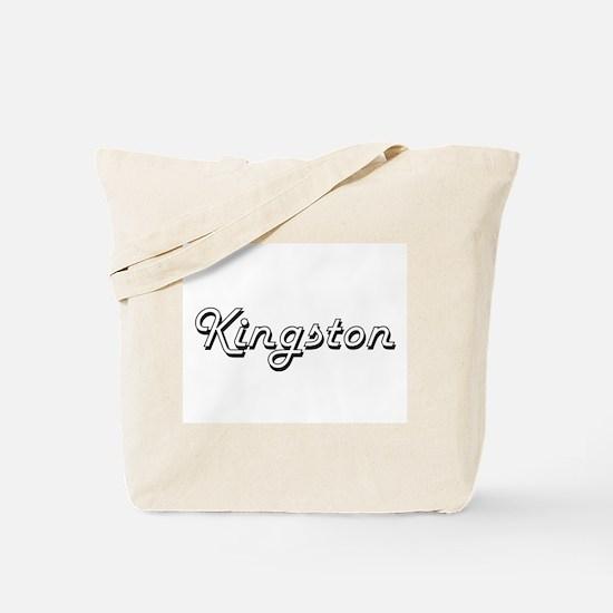 Kingston Classic Style Name Tote Bag