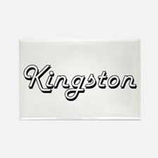 Kingston Classic Style Name Magnets