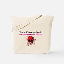 Yes I'm a Girl.. I PvP Tote Bag