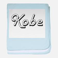 Kobe Classic Style Name baby blanket