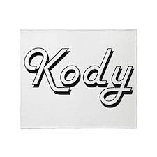 Kody Classic Style Name Throw Blanket