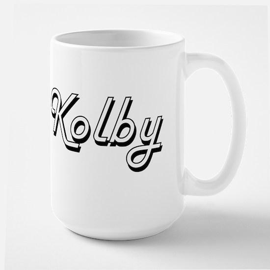Kolby Classic Style Name Mugs