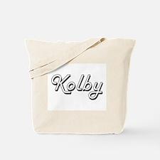 Kolby Classic Style Name Tote Bag
