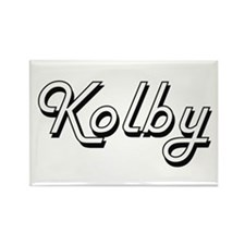 Kolby Classic Style Name Magnets