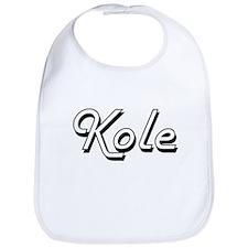 Kole Classic Style Name Bib