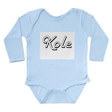 Kole Classic Style Name Body Suit
