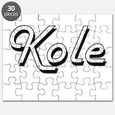 Kole Classic Style Name Puzzle
