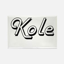 Kole Classic Style Name Magnets