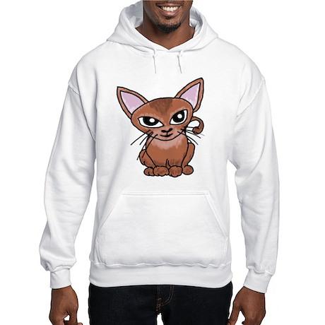 Abyssian Cat Hooded Sweatshirt