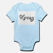 Korey Classic Style Name Body Suit
