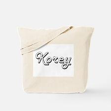 Korey Classic Style Name Tote Bag