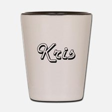 Kris Classic Style Name Shot Glass