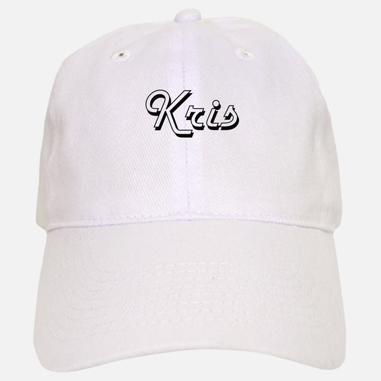 Kris Classic Style Name Baseball Baseball Cap