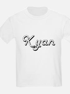 Kyan Classic Style Name T-Shirt