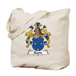 Kunz Family Crest Tote Bag