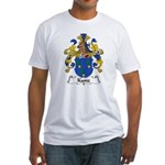 Kunz Family Crest Fitted T-Shirt