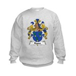 Kunz Family Crest Kids Sweatshirt
