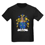 Kunz Family Crest Kids Dark T-Shirt