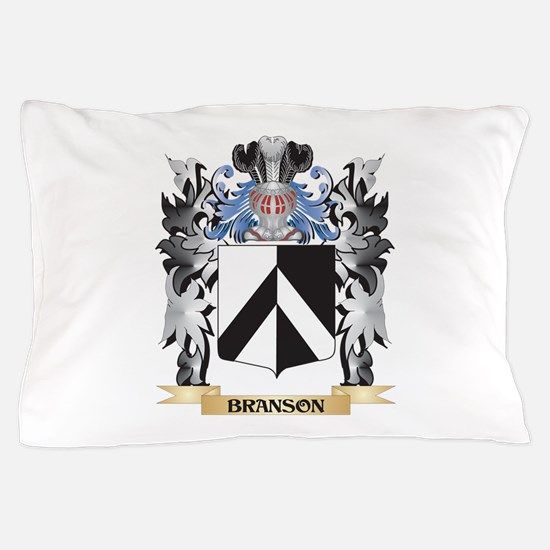 Branson Coat of Arms - Family Crest Pillow Case