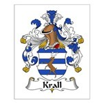 Krall Family Crest Small Poster