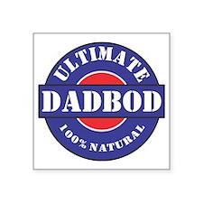 "Ultimate DADBOD Square Sticker 3"" x 3"""