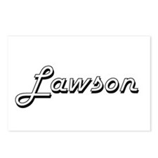 Lawson Classic Style Name Postcards (Package of 8)