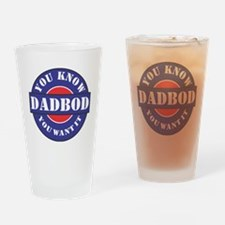 DADBOD Wanted Drinking Glass