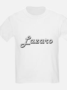 Lazaro Classic Style Name T-Shirt