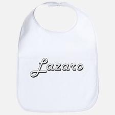 Lazaro Classic Style Name Bib