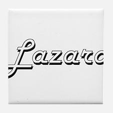 Lazaro Classic Style Name Tile Coaster