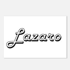 Lazaro Classic Style Name Postcards (Package of 8)