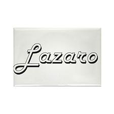 Lazaro Classic Style Name Magnets