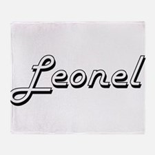 Leonel Classic Style Name Throw Blanket