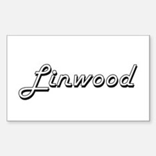 Linwood Classic Style Name Decal