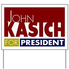John Kasich for President V1 Yard Sign