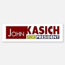 John Kasich for President V1 Bumper Bumper Sticker