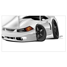 Modern American Muscle Car Wall Decal
