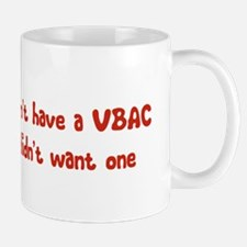 Wanted A VBAC Mug