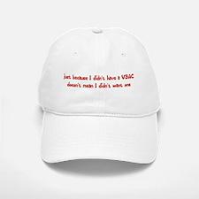 Wanted A VBAC Baseball Baseball Cap
