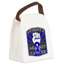 Fight Against Testicular Cancer Canvas Lunch Bag
