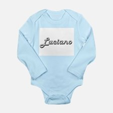 Luciano Classic Style Name Body Suit