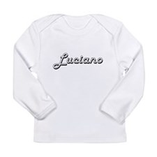 Luciano Classic Style Name Long Sleeve T-Shirt
